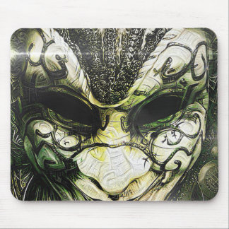 Fractal Deep Dreams of a Venetian Mask Mouse Pad