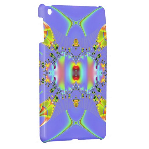 Fractal del acuario del Angelfish iPad Mini Carcasas