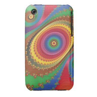 Fractal del arco iris iPhone 3 cobertura