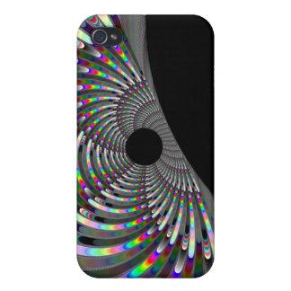 Fractal del art déco iPhone 4/4S funda