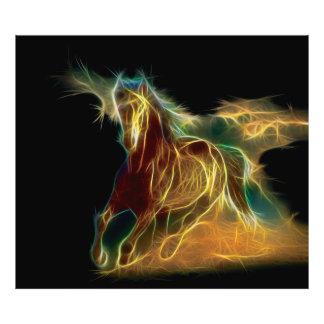 Fractal del caballo fotografías