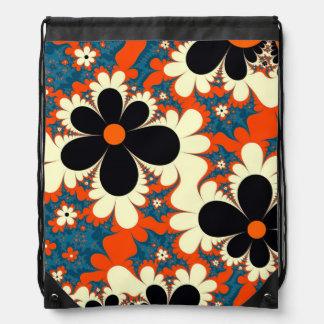 fractal del diseño del extracto del estampado de mochilas