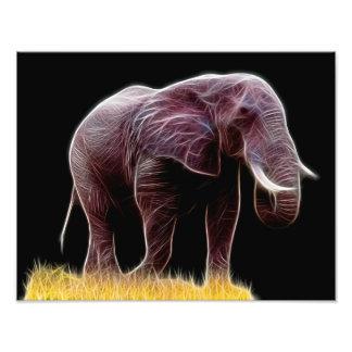 Fractal del elefante fotografía