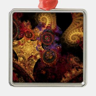 Fractal del espectáculo ornaments para arbol de navidad