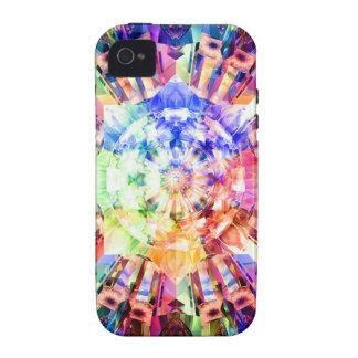 Fractal del espectro Case-Mate iPhone 4 carcasa