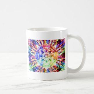 Fractal del espectro tazas de café