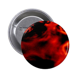 Fractal del fuego rojo pin