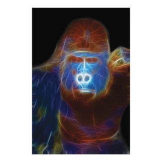 Fractal del gorila fotografía