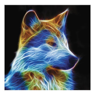 Fractal del lobo cojinete