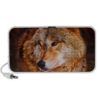 Fractal del lobo rojo sistema altavoz
