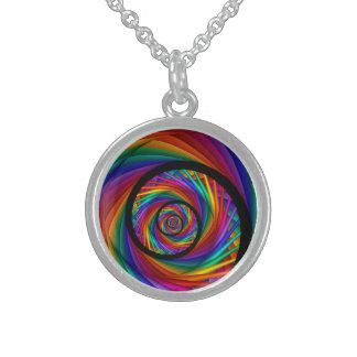 Fractal del OJO del arco iris Collares
