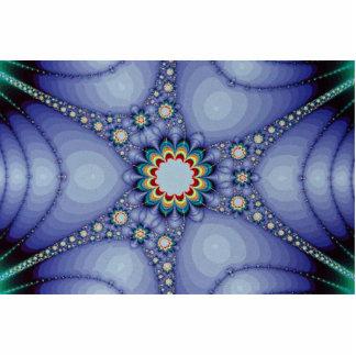 Fractal del organismo esculturas fotograficas