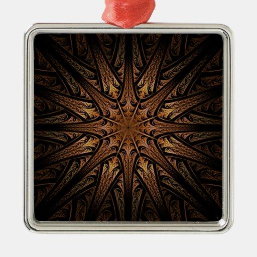 Fractal del reloj de sol ornamento de reyes magos