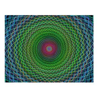 Fractal del RGB Postales