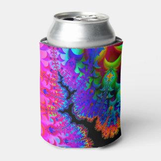Fractal del teñido anudado enfriador de latas
