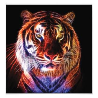Fractal del tigre fotografía