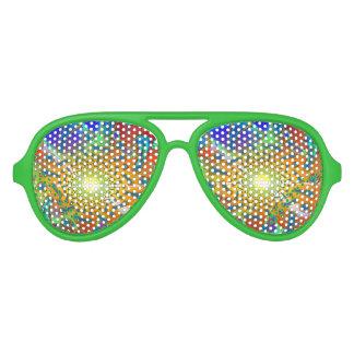 Fractal del vidrio de SemiSonic 3D Dichoric Lentes De Sol