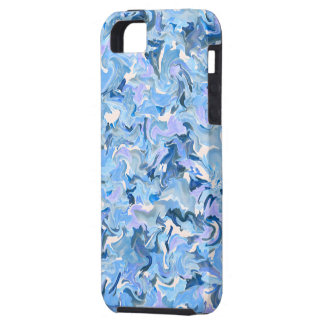 Fractal del vitral - caso del iPhone 5 del arte ab iPhone 5 Case-Mate Carcasas