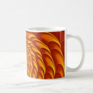 Fractal Design (Cricca Nut, Flame) on Coffee Mug