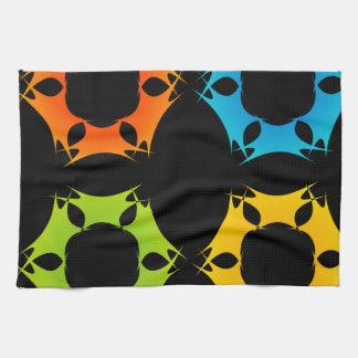 Fractal design element kitchen towel