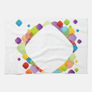Fractal design element kitchen towels