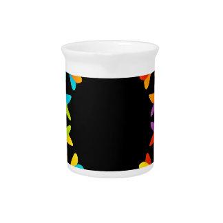Fractal design element or banner drink pitcher