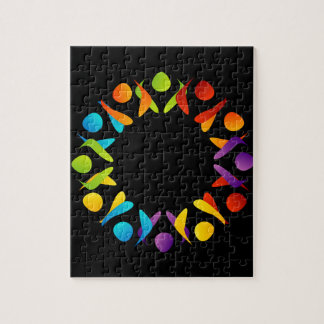 Fractal design element or banner jigsaw puzzle