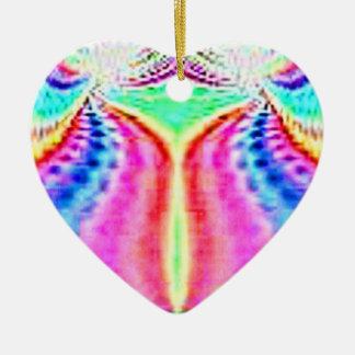 Fractal Design Heart Ornament