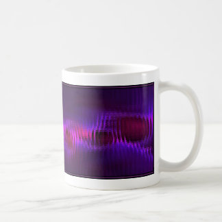 Fractal Design (Red Berry Mosaic) on Coffee Mug