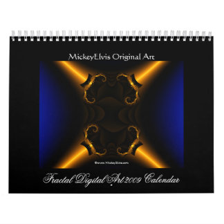 Fractal Digital Art 2009 Calendar