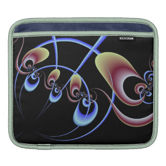 Fractal Domains Introspection/Snail Shell iPad Sleeve