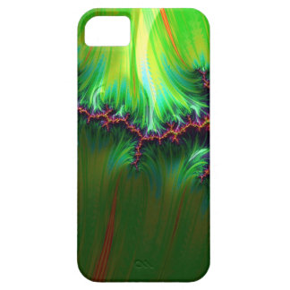 fractal duocolor, green iPhone 5 case