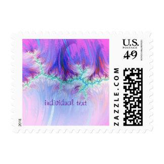 fractal duocolor, pink postage