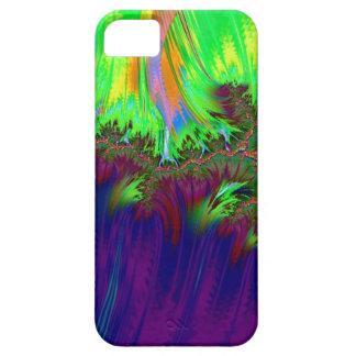fractal duocolor,purple iPhone 5 case