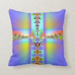 Fractal: Easter Cross Pillow