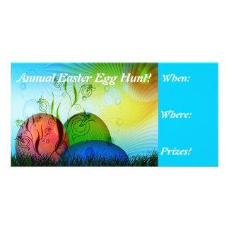 Fractal Easter Egg Hunt Invites