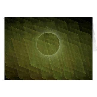 Fractal Eclipse Card