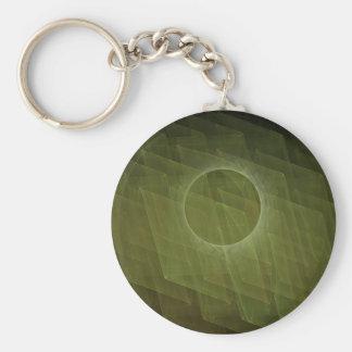 Fractal Eclipse Keychain