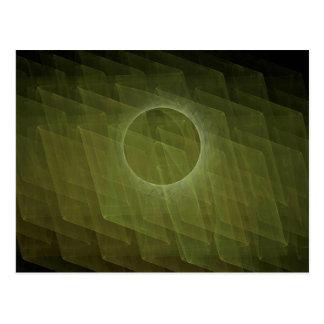 Fractal Eclipse Postcard