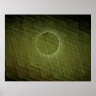 Fractal Eclipse Poster
