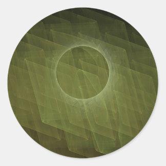 Fractal Eclipse Sticker
