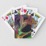 Fractal - el Swooping del búho Baraja Cartas De Poker