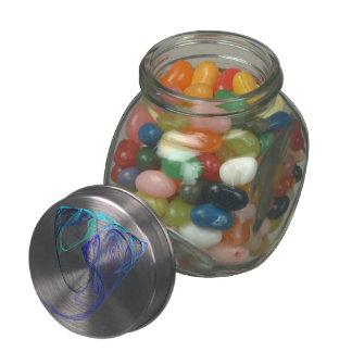 Fractal - Elephant Portrait Jelly Belly Candy Jars