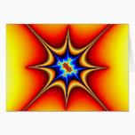 Fractal Emblem - Fractal Art Card
