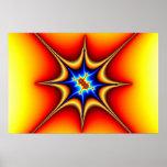 Fractal Emblem - Fractal Art Poster