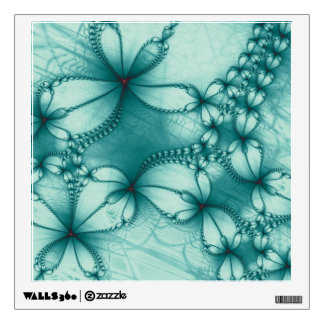 Fractal Embroidery Design Wall Decal