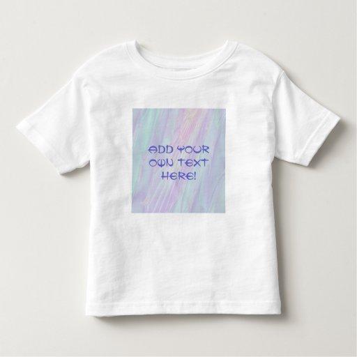 Fractal en colores pastel del modelo - el mar camisas
