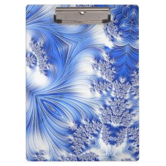 Fractal especial 17, azul
