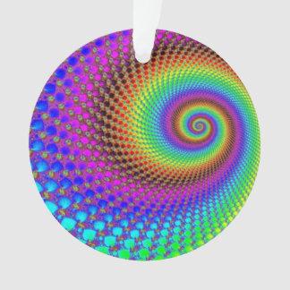 Fractal espiral abstracto
