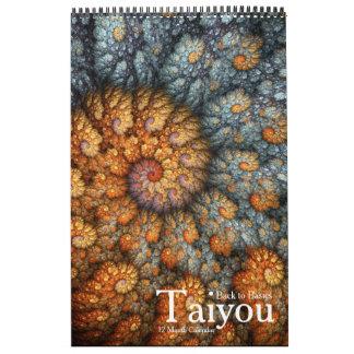 """Fractal espiral de """"Taiyou"""" Calendario"""